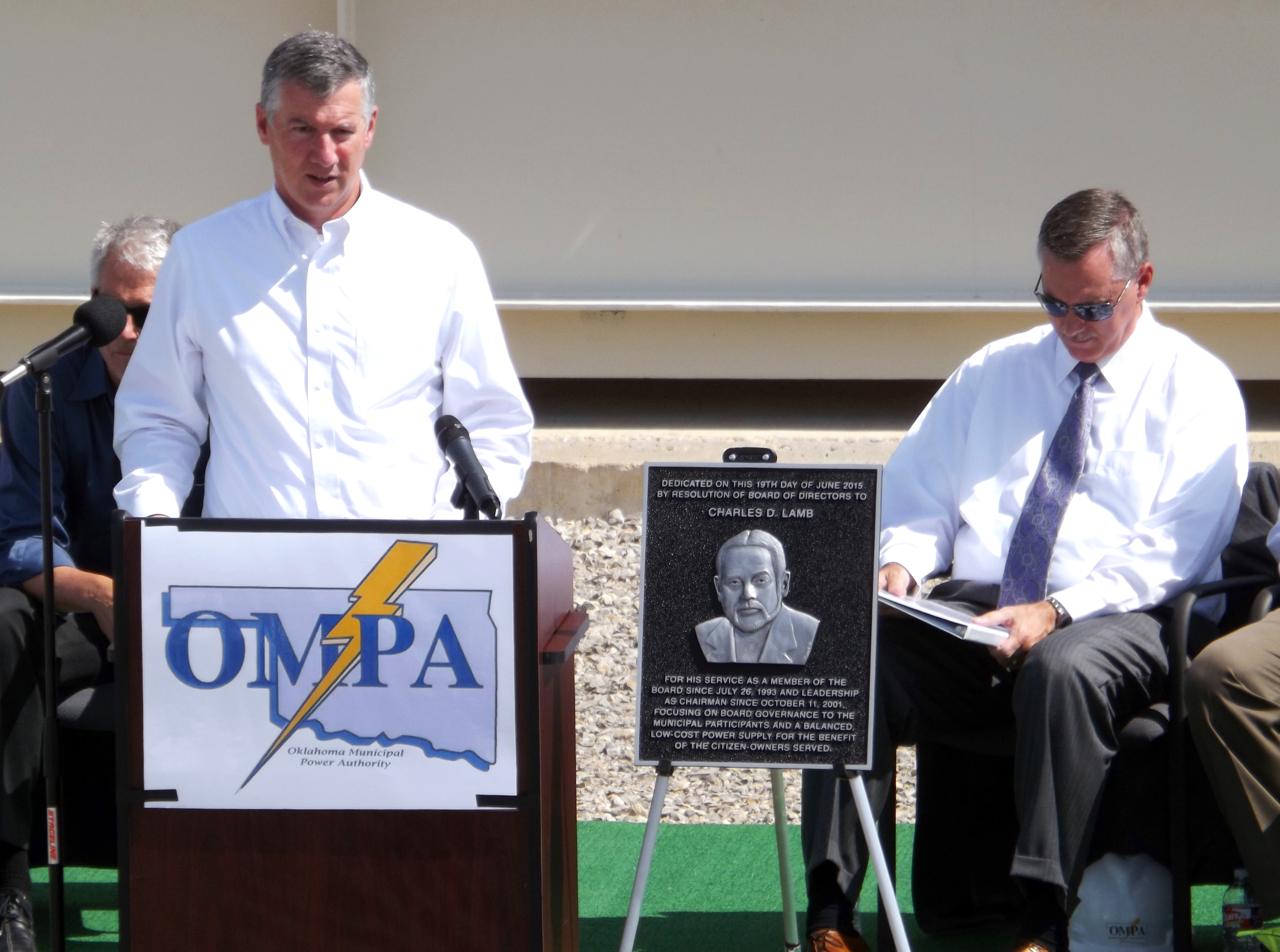 Photos from CDLEC dedication | Oklahoma Municipal Power Authority