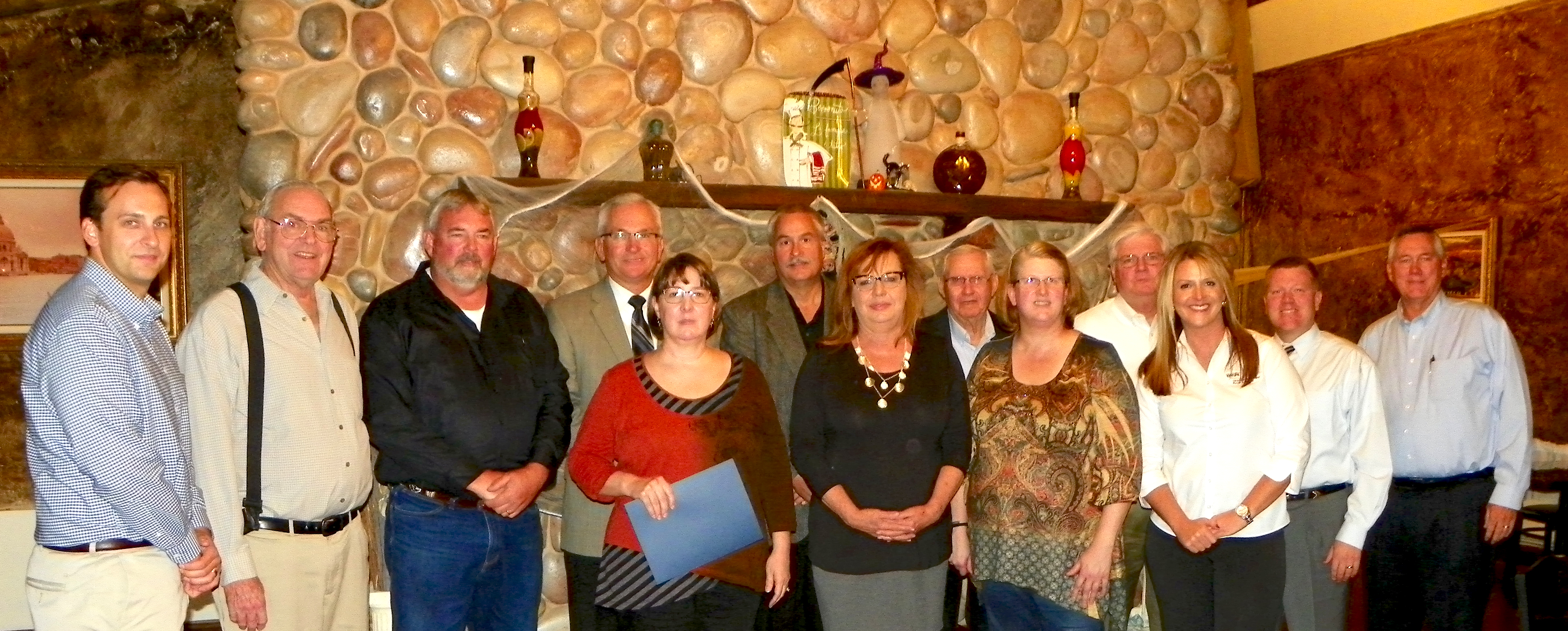 City Personnel And OMPA Meet With State Senator And